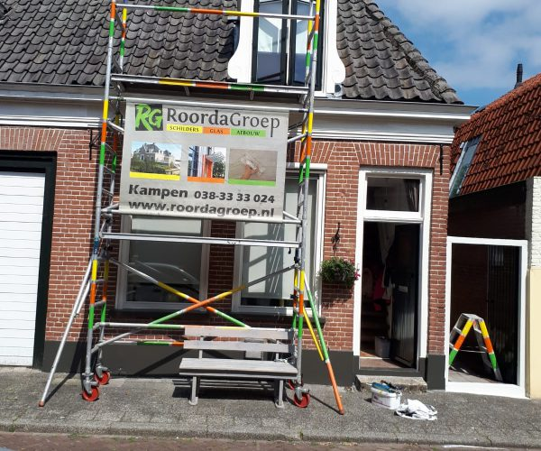 buitenschilderwerk Groenestraat voor